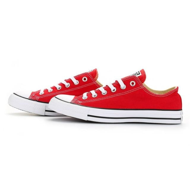 Red Converse Low Top Classic Cherry Canvas Custom Kicks w  Swarovski Crystal  Bling Rhinestone Jewels Chuck Taylor All Star Sneakers Shoes 137fab232f98
