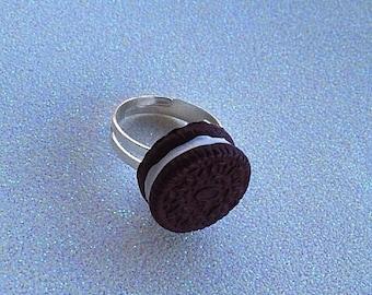 Mini Oreo Ring (Adjustable)