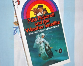 Miss Pickerell And The Weather Satellite, 1971 Archway Paperback