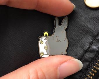Lightbringer Bunny Enamel Pin