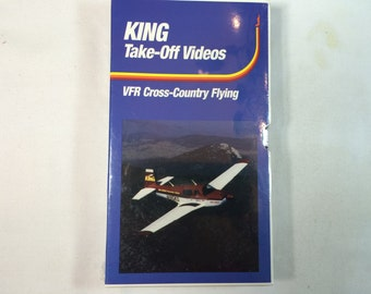 KING TAKE OFF Videos- (Cross Country Flying) Vhs -Pilot Instructional  New