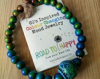 """Color Changing """"Mood"""" Bracelet"""