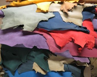 Grayish Ochre Cow Craft Leather - Vegetable Tanned and Aniline Dyed