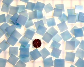 """Pale Blue Mosaic Tile """"Pale Azure"""""""