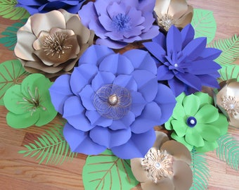 HARD COPY Template 13 Large Paper Flower