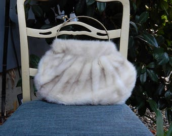 Plush Mink Handbag