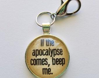 "Buffy The Vampire Slayer ""Beep Me"" keychain"