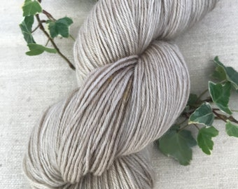 Bleached Almonds 4 ply Polworth yarn