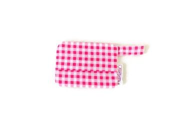 Pink Dog Waste Bag Holder, Girl Bag Holder, Dog Poop Bag Holder, Dog Poop Bag Dispenser, Waste Bag Carrier, Dog Poop Bag Pouch