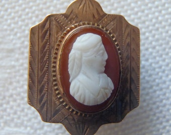 Vintage Cameo Slide for Necklace, Chain, or Bracelet
