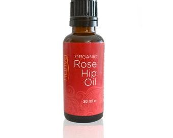Organic Rosehip Oil 30 ml (1.1 oz)