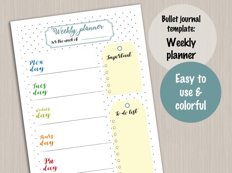 Ausgezeichnet Wöchentliche Essen Journal Vorlage Fotos - Beispiel ...