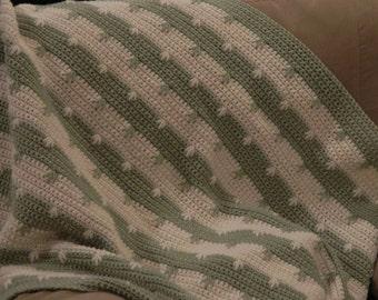 Crochet Blanket - 4' x 4'