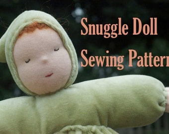 Waldorf Snuggle Doll Sewing Pattern