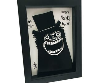 The Babadook Print 3D Art The Babadook Movie Poster The Babadook Book Art Babadook Artwork Babadook Art Horror Movie Print Horror Print