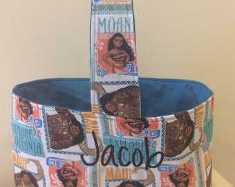 Moana Personalized Easter/Trick or Treat Basket