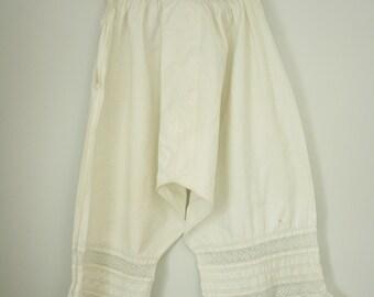1900er Jahren Hosen | Jahrgang edwardian Unterwäsche
