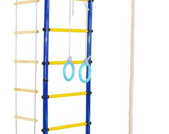 "Indoor playground for kids (Jungle Gym) ""Athlete"" T-Shaped"