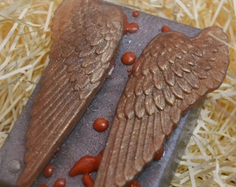 Walking Dead Soap - Daryl's Wings - Novelty Soap - Angel Wing Soap - AN AJSWEETSOAP EXCLUSIVE - Mens Soap - Daryl Dixon