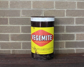 Large Retro Vegemite Can