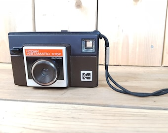 Vintage Kodak Instamatic X-15F Camera Made in Canada Point and Shoot Compact Camera