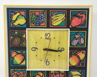 General Electric Funky Fruit Wall Clock