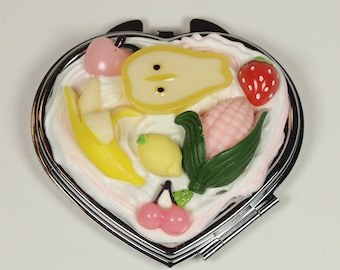 Kawaii Decoden Heart Mirror