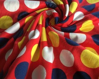 Bright Dots Minky Baby Blanket