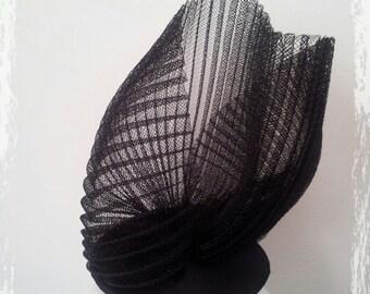 Bibi Jeanne black horsehair