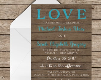 wedding suite rustic invitation country invitations brown wedding invite printed invitationwestern wedding invitation suite