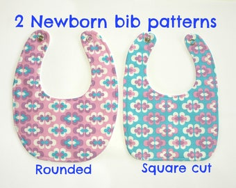Sewing pattern baby, New baby gift, Pdf sewing pattern, Baby patterns, Infant pattern, Newborn bib pattern (S128)