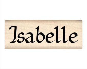 Isabelle - Name Rubber Stamp for Kids