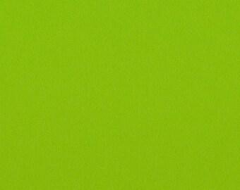Lime - 100% Pure Wool Felt