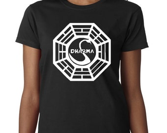 Dharma Initiative T-Shirt From the TV Show Lost