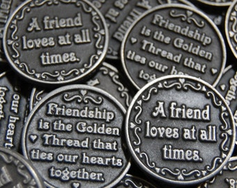 Friendship Pocket Tokens - SET OF 10