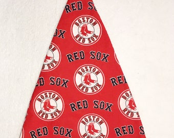 Boston Red Sox- Adult Santa Hat