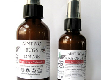 Aint No Bugs On Me Bug  Natural Repelling Spray Deet Free