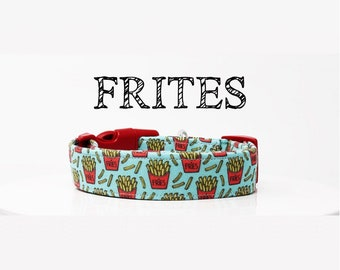 French Fry Collar | Fun Dog Collar | Foodie