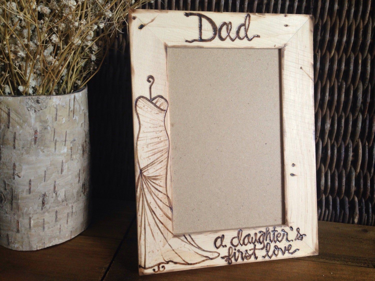 Father of the Bride Wedding Frame Gift for Dad Father\'s Day A ...