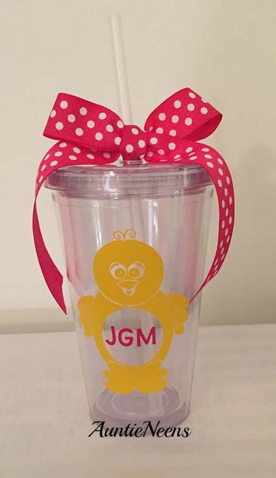 Easter tumbler cup easter basket easter gift tumbler cup like this item negle Choice Image