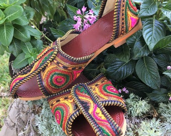 Indian Jutti Shoes Size 4