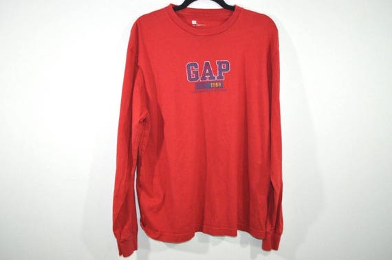 Vintage Gap Shirt 1990s Twill Shirt 1990s Grunge Shirt 90s Fashion Shirt 1990s Baggy Shirt 90s Gap Heavyweight Shirt Baggy Grunge Outdoors SlagV