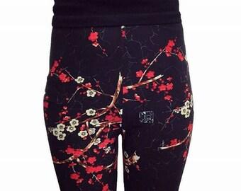 Plum blossom Leggings