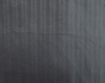 Fabric coupon gray blue cotton elastane 33.5 x 62 cm