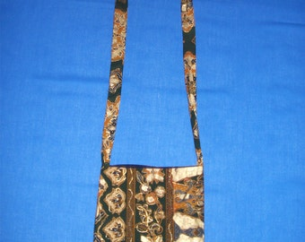 Cross Over Bag with Small flowers