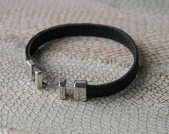 NEW! Genuine Fish Leather Bracelet. Many Colors