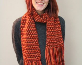 Warm wrap around scarves
