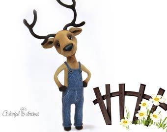 """Crochet Pattern """" The deer"""""""