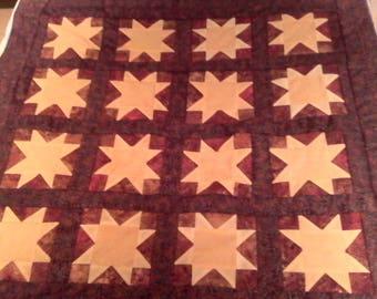 Christmas Star Lap Quilt
