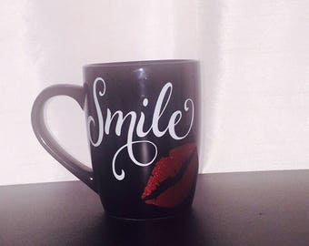 Smile Coffee Cup, Mug, Drinkware